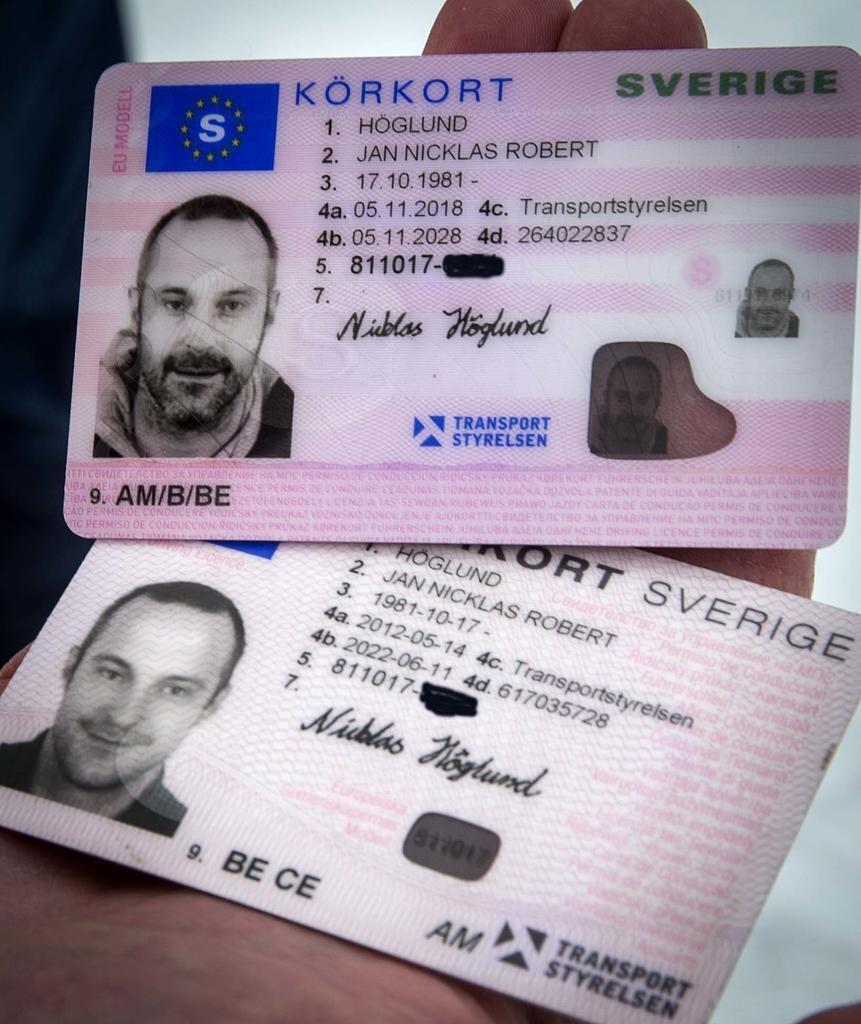 riktigt svenskt körkort, falska svenska körkort