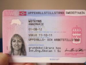 köp riktigt svenskt uppehållstillstånd online
